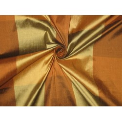 SILK Dupioni FABRIC Multi Colour plaids