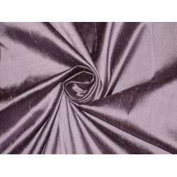 100% Pure SILK Dupioni FABRIC Lilac with Black Shot