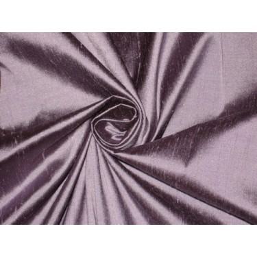 """100% Pure SILK Dupioni FABRIC Lilac with Black Shot 54"""" wide sold by the yard"""