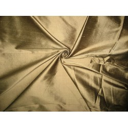 SILK Dupioni FABRIC Gold with Black shot colour 54""