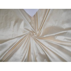 100% pure dupioni silk -118 inches wide/299 cms- light ivory color pkt239/4