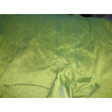 "silk indian  dupioni 54""rich lime green"