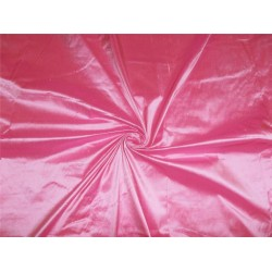 "100% PURE SILK DUPIONI FABRIC SHOCKING PINK 54"" WITHOUT SLUBS*"