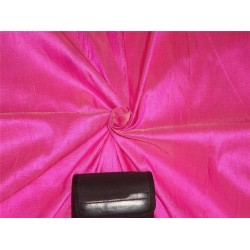 "100% PURE SILK DUPIONI FABRIC CANDY PINK 54"" WITH SLUBS*"