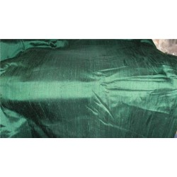 "100% PURE SILK DUPIONI FABRIC CROCODILE GREEN 44"" WITH SLUBS*"