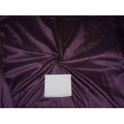 "100% PURE SILK DUPIONI FABRIC DIRTY PURPLE 54"" WITH SLUBS*"