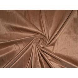"100% PURE SILK DUPIONI FABRIC GOLD X BROWN 54"" WITH SLUBS"