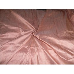 "100% PURE SILK DUPIONI FABRIC ONION PINK 54"" WITH SLUBS*"