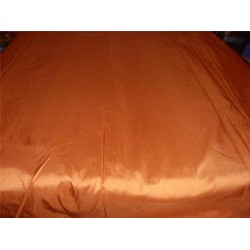 "100% PURE SILK DUPIONI FABRIC SANDALWOOD COLOR 54"" WITHOUT SLUBS*"