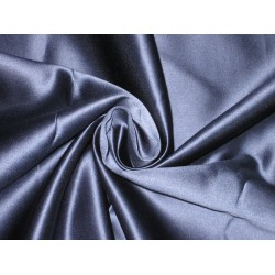 66 MOMME SILK DUTCHESS SATIN FABRIC Navy Blue color 54""