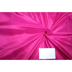 "Silk taffeta fabric HOTTEST PINK 54"" 40MM TAF299"