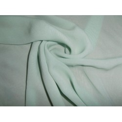 "16 mm Silk georgette 54"" wide~ sea green"
