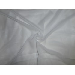 viscose crepe georgette light ivory  fabric 54""