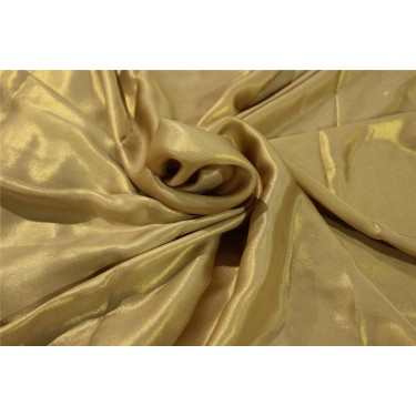 Polyester Shimmer Fabric GOLD color 44''wide FF#16[4]