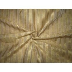 Silk Cotton Chanderi Fabric gold  x metallic gold 44'' wide
