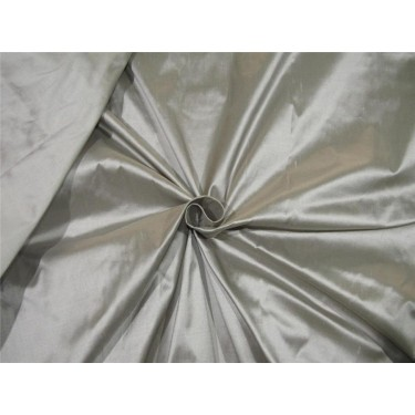 "100% Silk Dupion fabric Rich Grey color 60""wide DUP#260[2]"