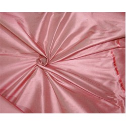 "100% Silk Dupion fabric candy pink color 54""wide DUP#256[3]"
