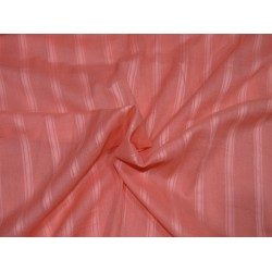 100% Cotton self stripes fabric coral color 44''wide CP1[2]