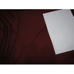 "100% polyester fabric  dark wine width 58""2 way stretch 56 momme"