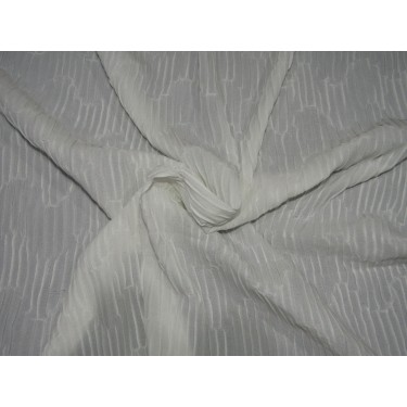 """~POLYESTER CRUSHED GEORGETTE  FABRIC 58""""FF53"""
