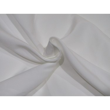 "100% polyester fabric  WIDE width 96"" white"