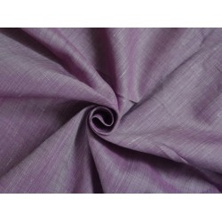 two tone linen{iridescent} brinjal purple x white