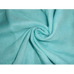 thin 26 mm sky blue pure linen fabric 59