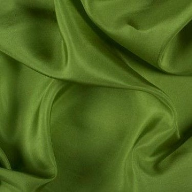 silk habotai 11 MOMME AVOCADO COLOR 44''WIDE BY THE YARD