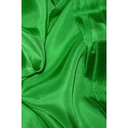 SILK HABOTAI 11 MOMME  RICH GREEN COLOR 44''WIDE  BY THE YARD