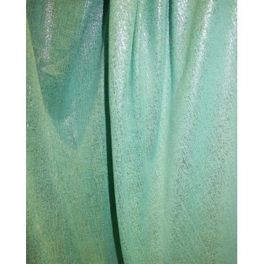 Lycra shimmer lurex silver fabric 58''wide sea green color FF#15A[2]