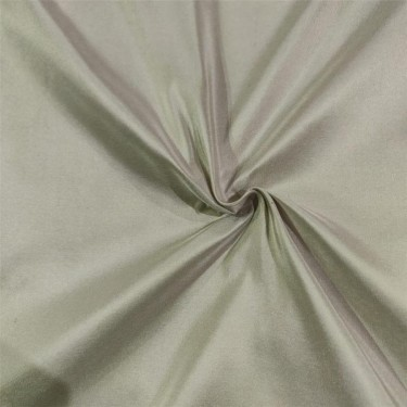 100% PURE SILK TAFFETA FABRIC SILVER COLOR 54''WIDE TAF#265