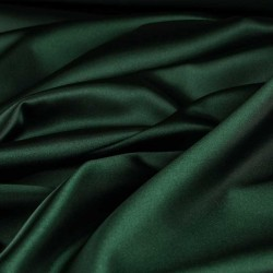 silk habotai 11 MOMME dark teal  green color 44''wide