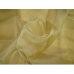 Silk Organza fabric gold color 44'' wide Pkt #28[9]