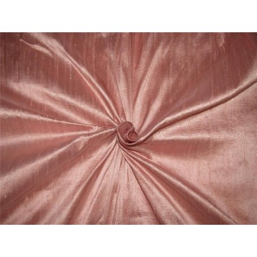 "100% Pure Silk Dupion Fabric Dusty Rose Pink 54""wide MM84[10]"