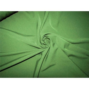 "Scuba Crepe Stretch Jersey Knit Dress fabric 58""wide army green color B2 #85[14]"