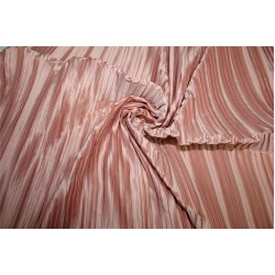 Satin pleated fabric onion pink color 58''WIDE FF9[1]