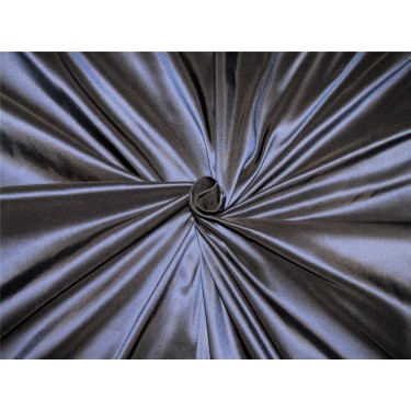 "40 mm heavy weight navy x black silk taffeta fabric 54"" wide*TAF#288"