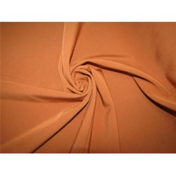 "Scuba Crepe Stretch Jersey Knit Dress fabric 58"" wide tan color B2 #85[13]"