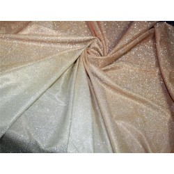 Ombre shimmer fabric lycra shaded gold x gold color 58''WIDE FF8[3]