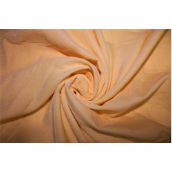"Micro Velvet fused Fabric peach color 44"" wide"
