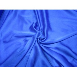 "Royal Blue  viscose modal satin weave fabrics 44"" wide"