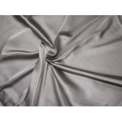 "Grey  viscose modal satin weave fabrics 44"" wide"