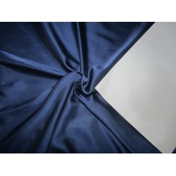 "Navy Blue  viscose modal satin weave fabrics 44"" wide"