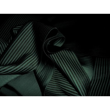 "green x black neoprene/ striped scuba fabric 59"" wide-thick"