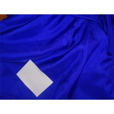 14mm royal blue color plain habotai silk fabric