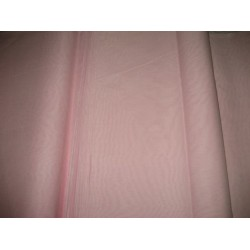 "Baby Pink cotton organdy fabric 44"" medium finish"
