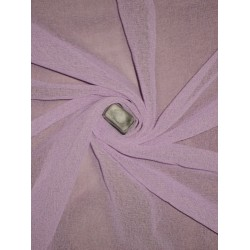 GEORGETTE FABRIC Lavender color 44""