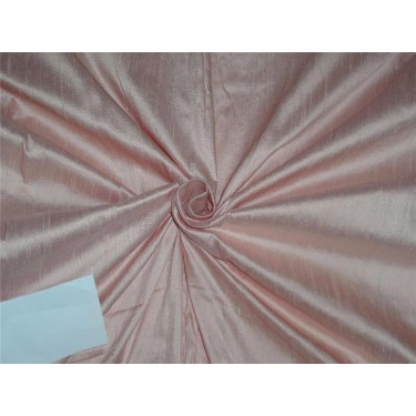 "100% PURE SILK DUPIONI FABRIC dusty rose 54"" mm81[7]"