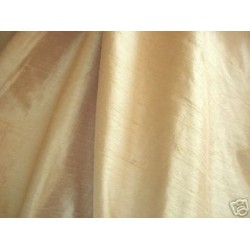 "dupioni silk fabric 54""-soft bronze / maize"