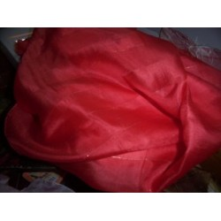 Silk fabric[Chilli red colour]